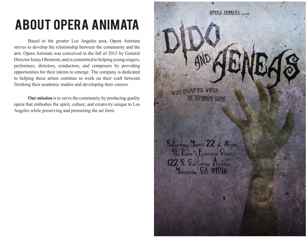 Dido and Aeneas | PROGRAM
