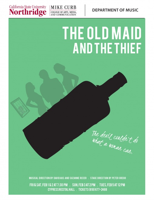 The Old Maid and the Thief | POSTER
